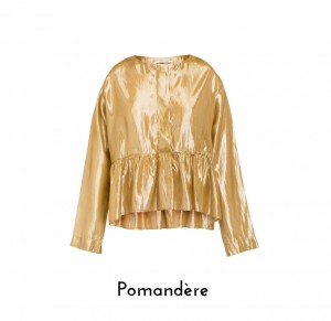 Pomande¦Çre  camicia oro 9164