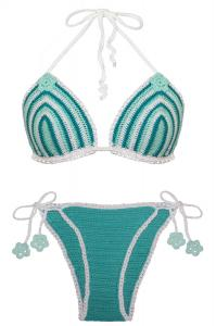 315-bikini-handmade-cotone-certificato-bianco-verde-bianco-princess handle with care-